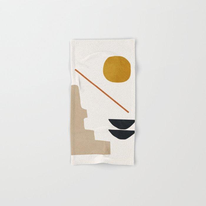 abstract minimal 6 Hand & Bath Towel