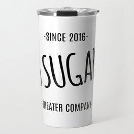 13 Sugars Theater Company Logo Travel Mug