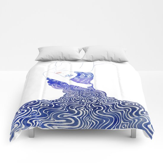 Water Nymph XXXVII Comforters