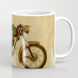 Ducat 125 Aurea 1958 motorcycle vintage bike poster Coffee Mug