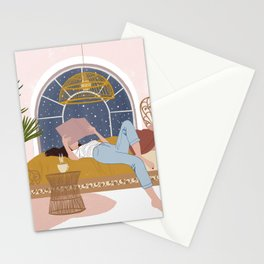 Cosy Winter Nights Stationery Cards