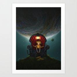 The Dreams Machine Art Print