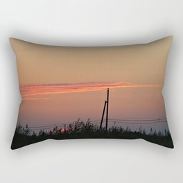 With my Wings comes Freedom Rectangular Pillow