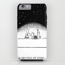 sky full of stars, cold play iPhone Case