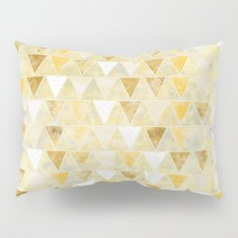 Gold Glass Pillow Sham