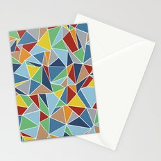 Abstraction Outline Stationery Cards