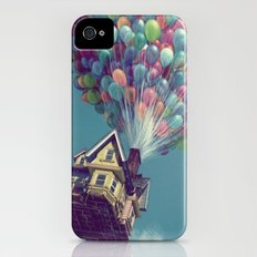 Up, up and away iPhone (4, 4s) Slim Case