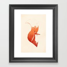 A Tail Of Two Cities  Framed Art Print