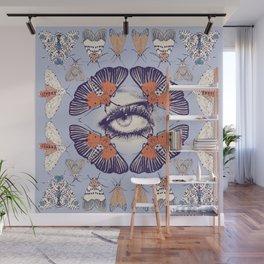 Moth Mandala Wall Mural