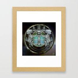 """""""Astrological Mechanism - Gemini"""" Framed Art Print"""
