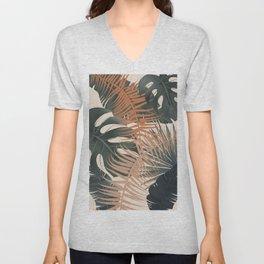 Abstract Tropical Art V Unisex V-Neck