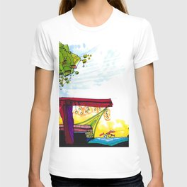 Gypsy River Architectural Illustration 89 T-shirt