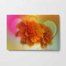 take time to look at flowers -66- Metal Print