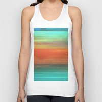 trippy Tank Tops featuring Trippy Serape by Cultivate Bohemia
