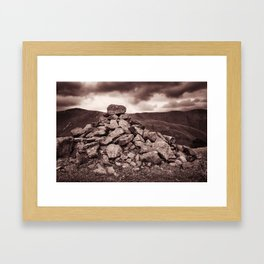 Others have been here before Framed Art Print