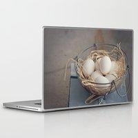 eggs Laptop & iPad Skins featuring Eggs by Luisa Morón-Fotografía