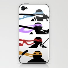 TMNT - Cutout iPhone & iPod Skin