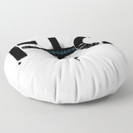 FindChaos - Logo Floor Pillow
