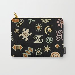 African Adinkra Symbols Carry-All Pouch
