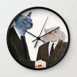Cat Chat Wall Clock