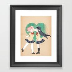 Papercraft Lovers Framed Art Print
