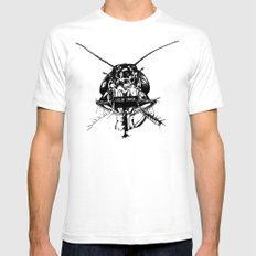 The Metamorphosis SMALL Mens Fitted Tee White