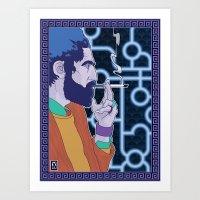 Smoker! Art Print