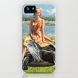 Giddy-up horsey iPhone Case