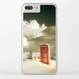 Winter in the Cotswolds, England Clear iPhone Case