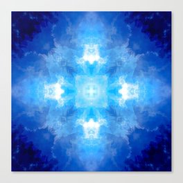 Azure Escape Canvas Print
