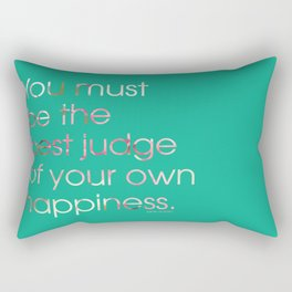 Happiness 2 Rectangular Pillow