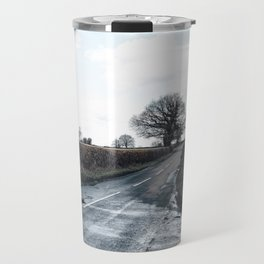 open fields around derby Travel Mug