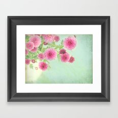 colorful spring Framed Art Print