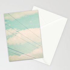 April sky Stationery Cards