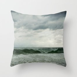The Emerald Coast Throw Pillow