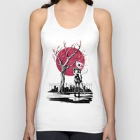 japanese Tank Tops featuring Japanese student by Rafapasta