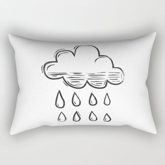Rain cloud Rectangular Pillow