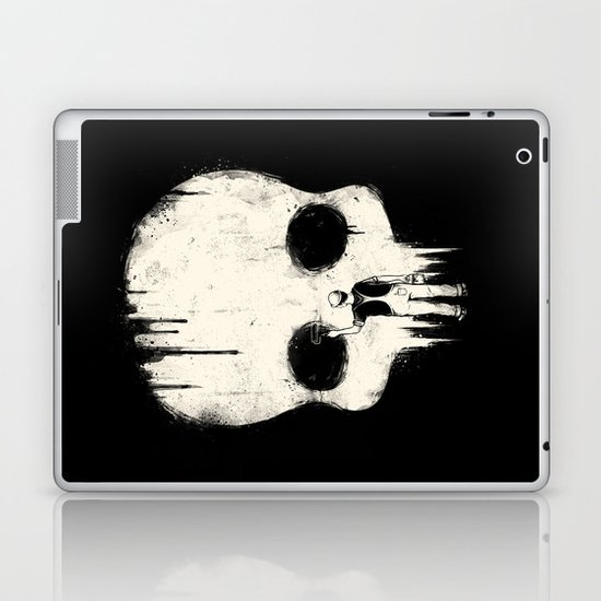 Paint it Black Laptop & iPad Skin