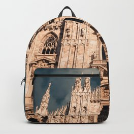 Milan Cathedral, Duomo di Milano, Gothic church, Lombardy, Milan photography Backpack