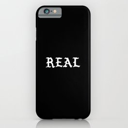 Typographic Real Hand Lettering iPhone Case