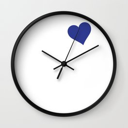 My Heart is Promised to a Airman Graphic Military Wall Clock
