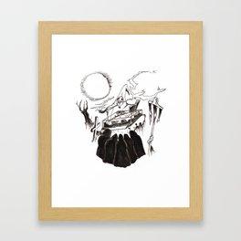 Night Funeral Framed Art Print
