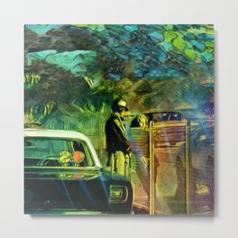 A Nightly Pull Over:The Casual Affair Metal Print