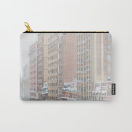 Upper West Side Snow - New York City Photography Carry-All Pouch