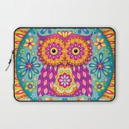 Owl Mandala Laptop Sleeve