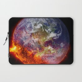 Global Warming Climate Change Laptop Sleeve