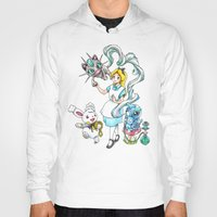 projectrocket Hoodies featuring I'm not all there Myself by Randy C