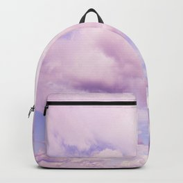 Pink Clouds In The Blue Sky #decor #society6 #buyart Backpack