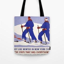 Vintage poster - New York Tote Bag