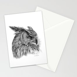 Eagle Owl G085 Stationery Cards